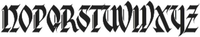 MCF G-style ttf (400) Font UPPERCASE