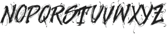 MCF Geroin ttf (400) Font UPPERCASE
