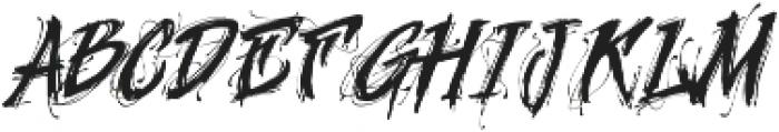 MCF Geroin ttf (400) Font LOWERCASE