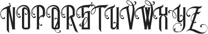 MCF Legion of Darwin ttf (400) Font UPPERCASE