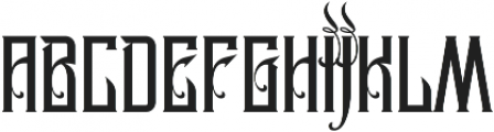 MCF Legion of Darwin ttf (400) Font LOWERCASE