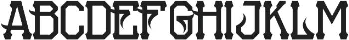 MCF Petarda otf (400) Font UPPERCASE