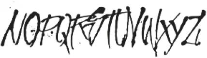 MCF Revolution ink ttf (400) Font UPPERCASE