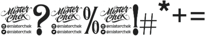 MCF Stone Head ttf (400) Font OTHER CHARS