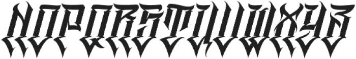 MCF Tawer Regular otf (400) Font UPPERCASE