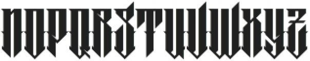 MCF barklay ttf (400) Font UPPERCASE