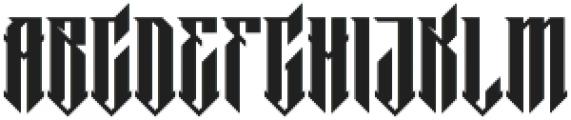 MCF barklay ttf (400) Font LOWERCASE