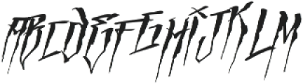 MCF empire cave ttf (400) Font LOWERCASE