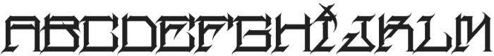 MCF herosin ttf (400) Font UPPERCASE