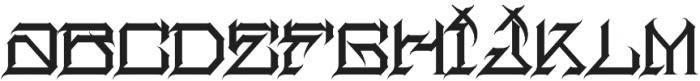 MCF herosin ttf (400) Font LOWERCASE