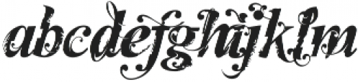 MCF horizons ttf (400) Font LOWERCASE