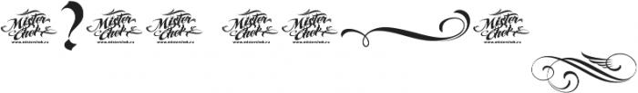MCF karthur ttf (400) Font OTHER CHARS