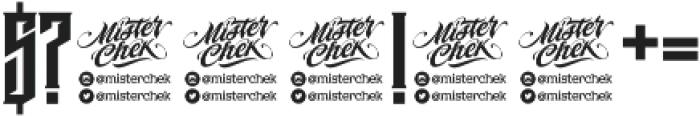 MCF krechet ttf (400) Font OTHER CHARS