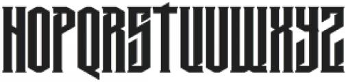 MCF krechet ttf (400) Font UPPERCASE