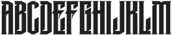 MCF krechet ttf (400) Font LOWERCASE