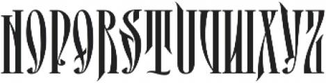 MCF perun ttf (400) Font UPPERCASE