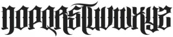 MCF trueper ttf (400) Font LOWERCASE