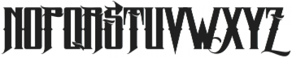 MCF zelfis ttf (400) Font UPPERCASE