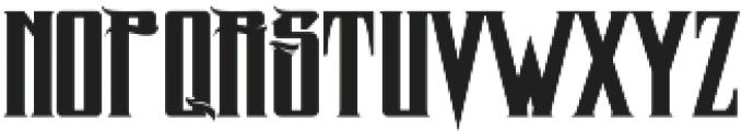 MCF zelfis ttf (400) Font LOWERCASE