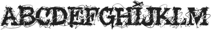 MCFGlowins otf (400) Font UPPERCASE