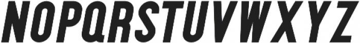 McCarthy Black Italic otf (900) Font UPPERCASE
