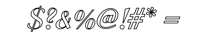 MC Valentine Plush Font OTHER CHARS