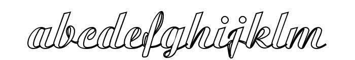 MC Valentine Plush Font LOWERCASE
