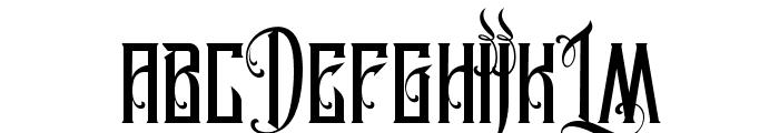 MCF Legion of Darwin Font UPPERCASE