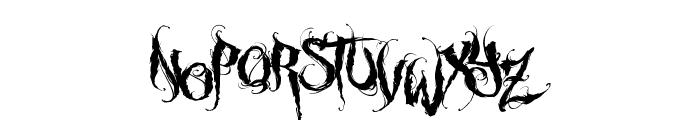 MCF funera flourish Font UPPERCASE