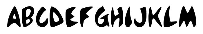 McBoing Boing Font UPPERCASE