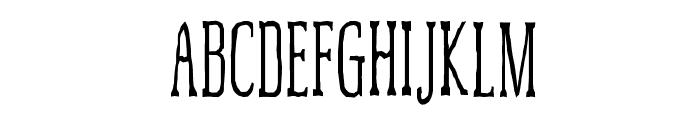 McFoodPoisoning3 Font UPPERCASE