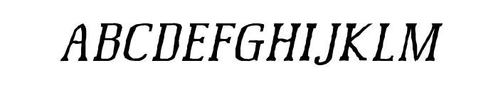 McFoodPoisoning6 Font UPPERCASE