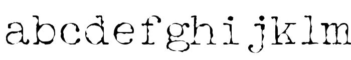 McGarey Regular Font LOWERCASE