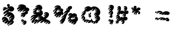 McKloud Misty Font OTHER CHARS