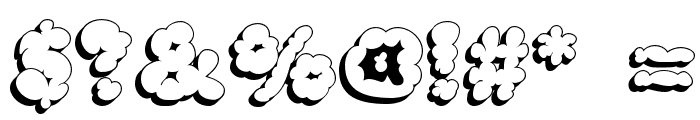 McKloud Shadow Font OTHER CHARS