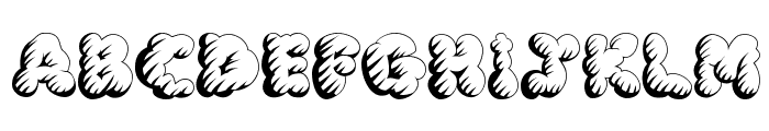 McKloud Storm Font UPPERCASE