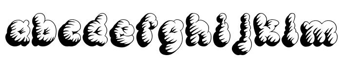 McKloud Tempest Font LOWERCASE