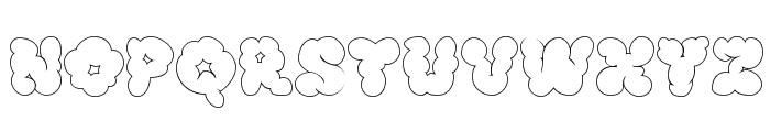 McKloud White Font UPPERCASE