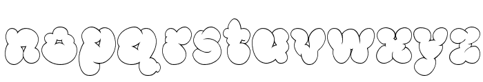 McKloud White Font LOWERCASE