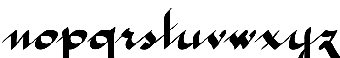 McLeona Bold Font LOWERCASE