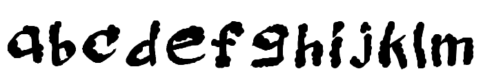 Mcessay Regular Font LOWERCASE