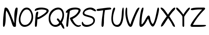 Mcgannahan Font UPPERCASE