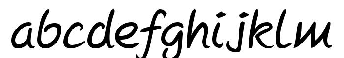 Mcgannahan Font LOWERCASE