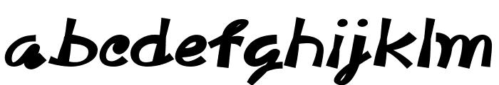 McDoogleBold Font LOWERCASE