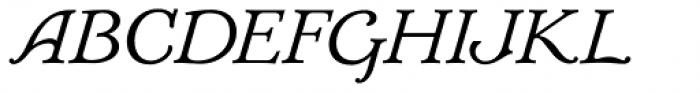 Mc Kenna Handletter NF Italic Font UPPERCASE