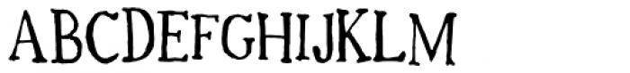 Mc Kracken Font UPPERCASE