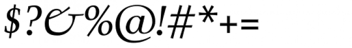 Mc Lemore Italic Font OTHER CHARS