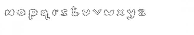 Mc Cool Inner Stripes Font LOWERCASE