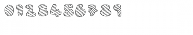 Mc Cool Outlined Stripes Font OTHER CHARS