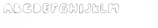 Mc Cool Outlined Font UPPERCASE
